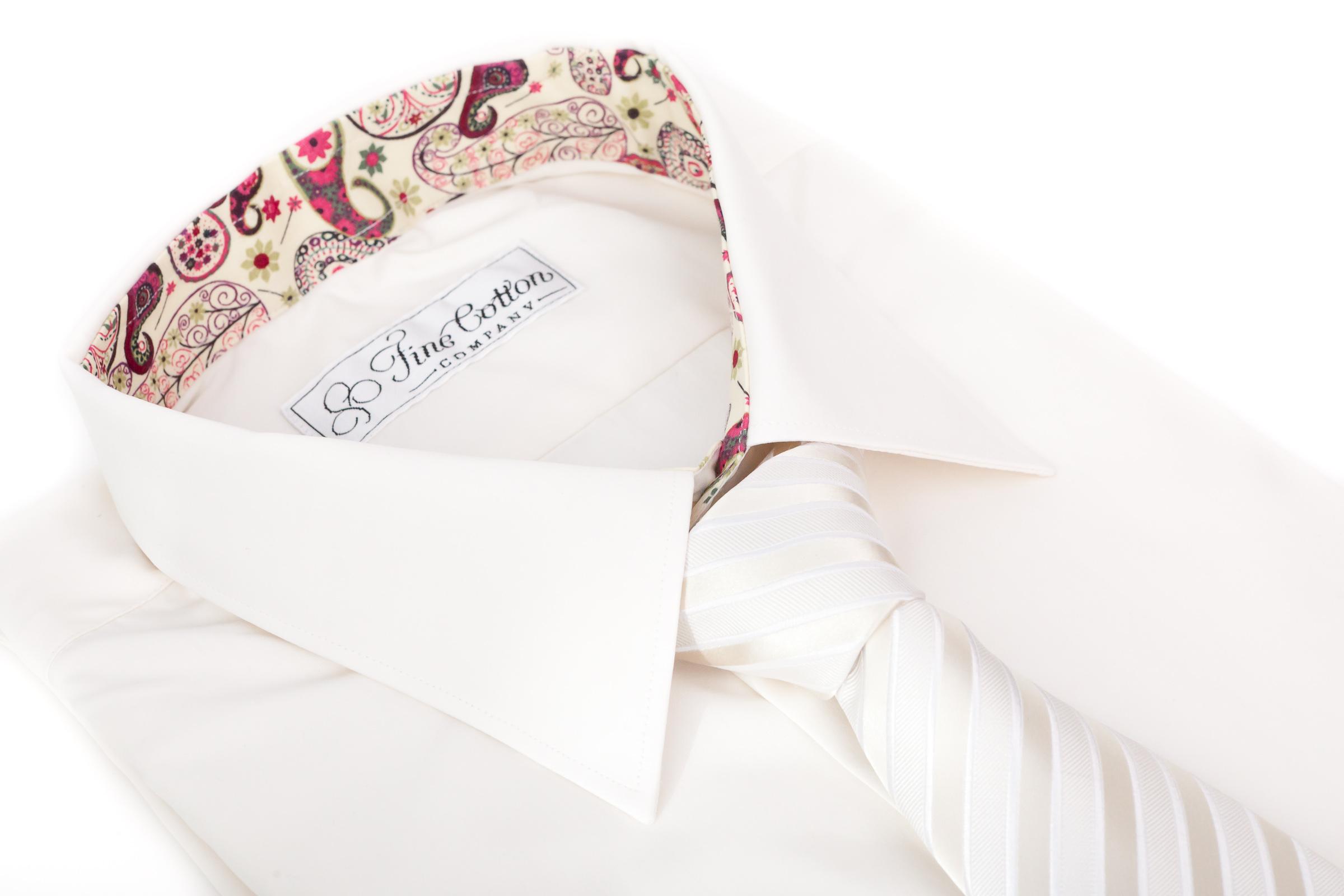 Masshemd_Hochzeit_Creme_Krawatte